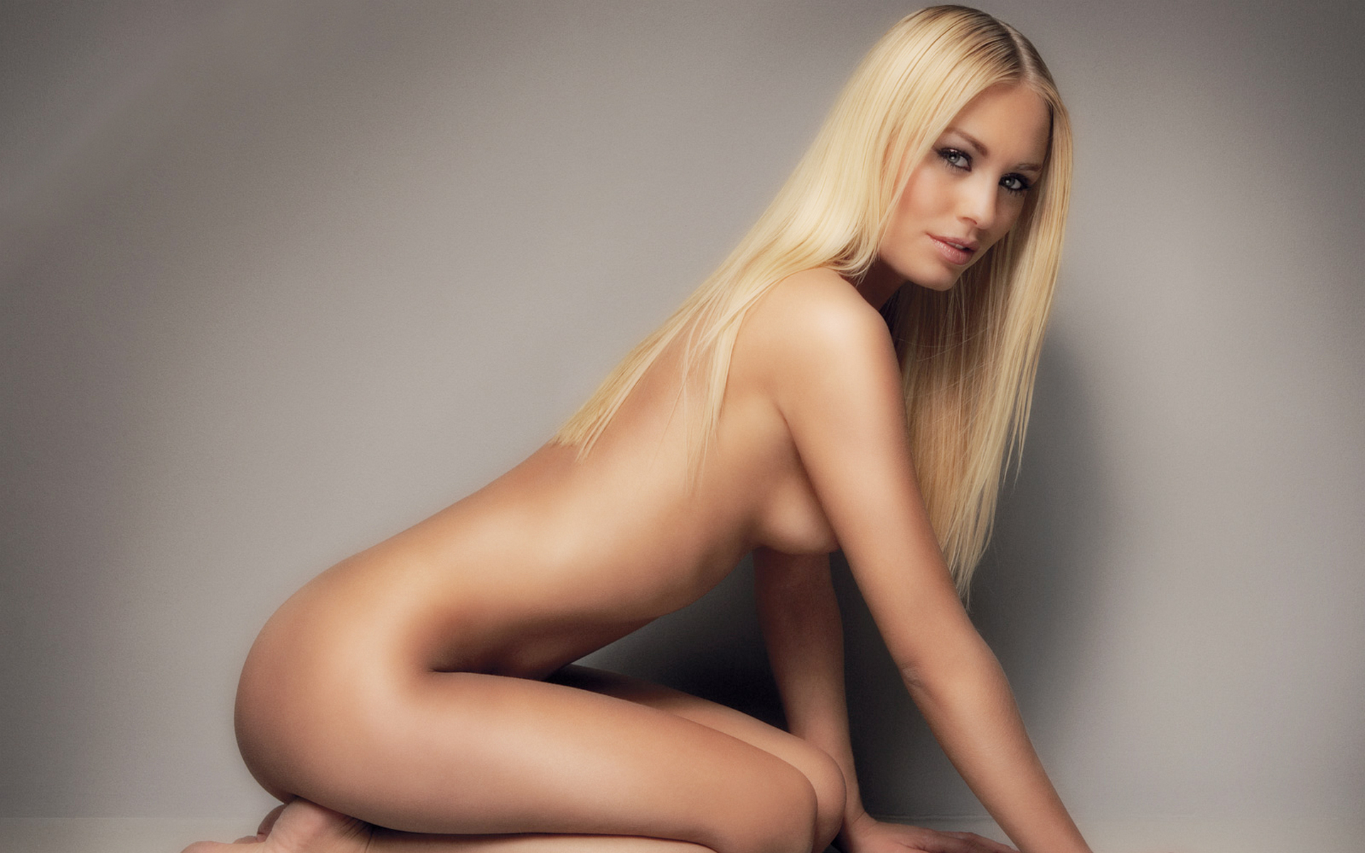 Beautiful blonde skinny girl diana strips sexy dress to and stretches naked