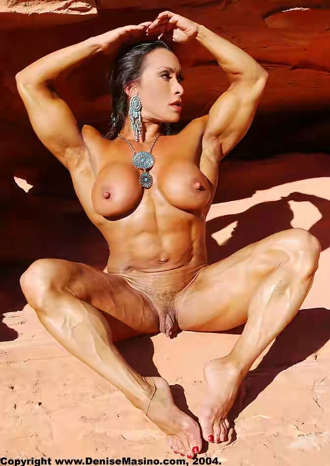 Oiled Muscle Women